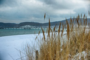 Winter am Strand auf Rügen